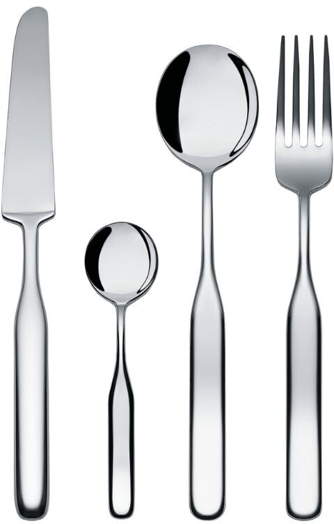 Thumbnail for your product : Alessi Collo-Alto Stainless Steel 24-Piece Cutlery Set