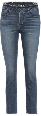 3x1 W4 Raw Edge Shelter straight jeans