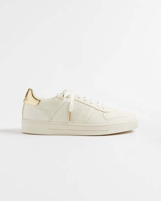 Ted Baker SOSIE Perforated T detail trainers