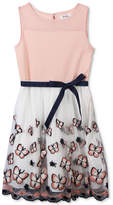 Speechless Embroidered Butterfly Dress, Big Girls Plus