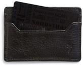 Frye Men's 'Logan' Leather Card Holder - Black