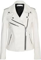 Victoria, Victoria Beckham Leather Biker Jacket - White