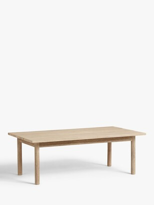 Croft Collection Burford Garden Coffee Table, FSC-Certified (Acacia Wood), Natural