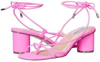 Steve Madden Ivanna Heeled Sandal (Pink Neon) Women's Shoes