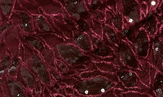 Thumbnail for your product : Mac Duggal Sequin Lace High Slit Long Sleeve Sheath Gown