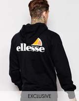 Ellesse Ellesse Hoodie With Back Print - Black