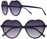 Lauren Conrad 57mm Lust Heart Gradient Sunglasses