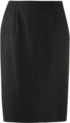 Gianfranco Ferré Pre Owned 1990s High Rise Pencil Skirt