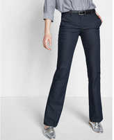 Express low rise notch back slim flare editor pant