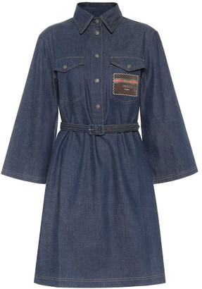 Gucci Denim shirt dress