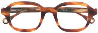 Études Illusion square glasses