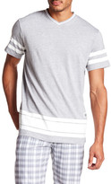 Burnside V-Neck Short Sleeve Knit Tee