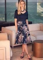 Kaleidoscope Bardot Jacquard Prom Dress