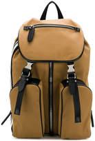 Neil Barrett multipocket flap top backpack