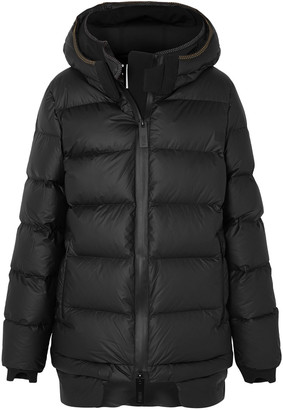 TEMPLA Quilted Shell Hooded Down Jacket