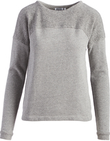 Three Dots Granite Reverse-Panel Sweater
