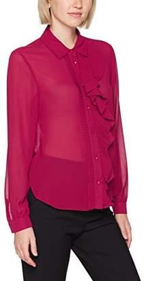 Sisley Women's Blouse with Asymmetric Ruffles Blouse,Small