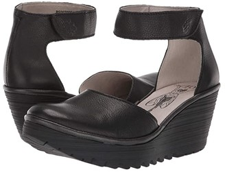 Fly London Yand709Fly (Black Brito) Women's Shoes