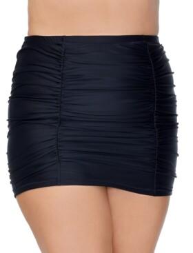 Raisins Curve Trendy Plus Size Costa Swim Skirt Women's Swimsuit