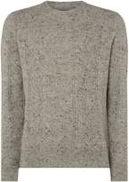 Howick Lethbridge Cable Crew Neck
