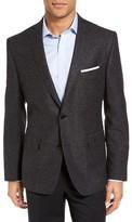 JB Britches Men's Workshop Classic Fit Wool Blazer