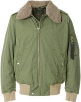 Rag & Bone shearling collar bomber jacket
