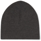 Isaia Cashmere And Silk-blend Beanie - Gray