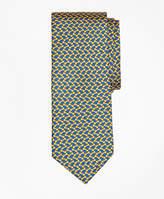 Brooks Brothers Bow Tie Motif Print Tie