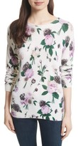Equipment Women's Sloane Floral Print Cashmere Sweater