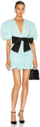 Marianna SENCHINA Eye Candy Mini Dress in Sky Blue   FWRD