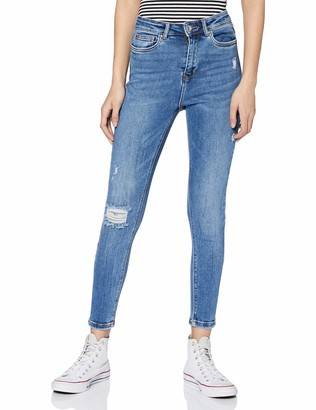 Only Women's Onlmila Life Hwsk ANK DST Bj139944 Noos Jeans