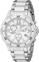 Citizen Women's Ceramic Chronograph Eco-Drive Chronograph Watch FB1230-50A