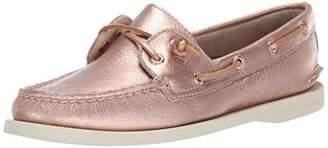 Sperry Women's A/O Vida Metallic Boat Shoe