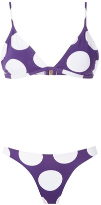 BRIGITTE Tati high cut leg bikini set