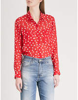 The Kooples Polka dot print chiffon shirt