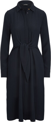 Ralph Lauren Georgette Shirtdress