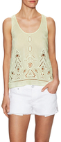 Saylor Izzy Cotton Inset Top