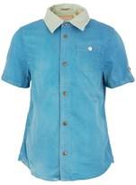 Scotch Shrunk Blue and Green Shirt
