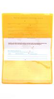 Flight 001 X-Ray Passport Case