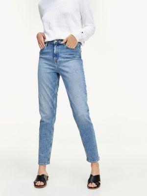 Tommy Hilfiger Gramercy Tapered High Waist Jeans
