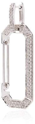 EERA 18k white gold chiara earring