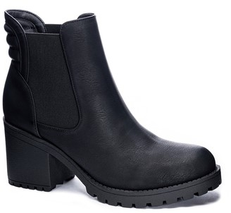 Chinese Laundry Levi Block Heel Chelsea Boot