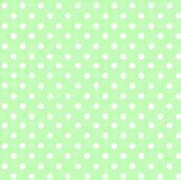 Stokke SheetWorld Fitted Oval Mini) - Pastel Green Polka Dots Woven - Made In USA - 58.4 cm x 73.7 cm ( 23 inches x 29 inches)