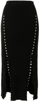Altuzarra Marilla fine-ribbed skirt