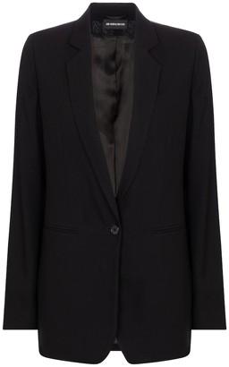 Ann Demeulemeester Single-breasted wool blazer