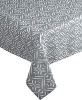 Distinctly Home Block Oblong Tablecloth