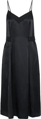 Rag & Bone Hugo Hammered Silk Midi Dress