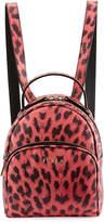 Furla Frida Mini Leopard-Print Backpack