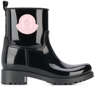 Moncler logo boots