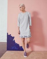 Ted Baker Geo floral print shift dress